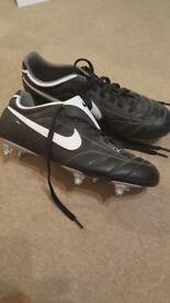 Nike football boots, sze 11