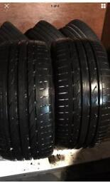 245 40 18 Bridgestone Potenza AS NEW 8mm FREE FITTING WE COME TO YOU