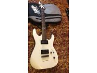 LTD - M-10 Electric guitar - white.