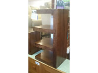 Set of 3 Modern modular shelving units & tables heavy chunky