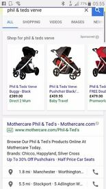 Doubble Phil&Teds Buggy