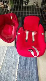 Maxi cost pebble car seat and spare cover