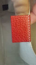 Genuine gucci red soho bag