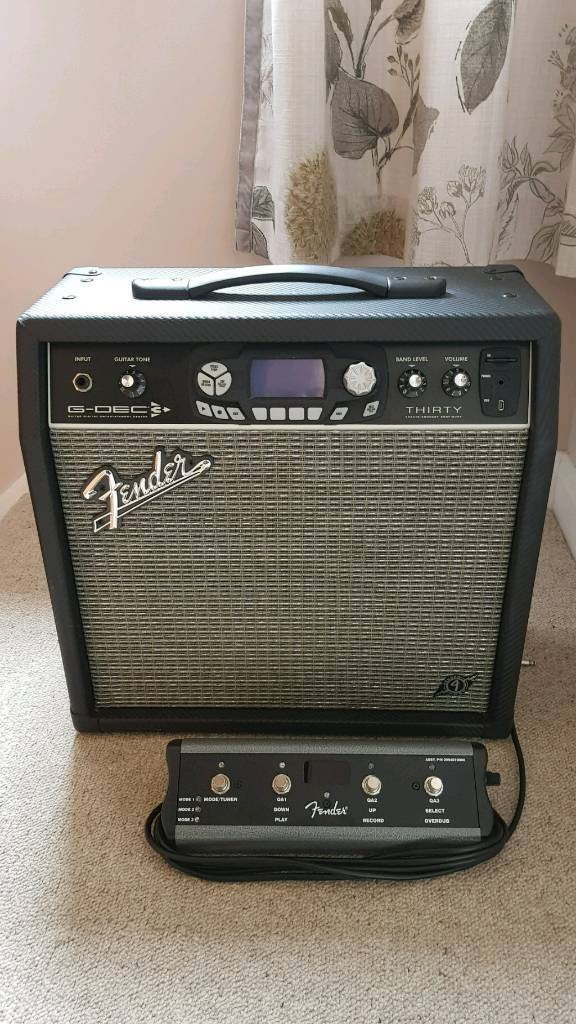 Fender G-Dec 3 Thirty Guitar Amplifier with Footswitch | in Kidlington,  Oxfordshire | Gumtree