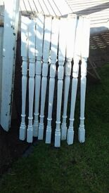 *FREE*Victorian or edwardian stair spindles and balustrade