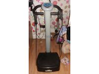 Vibrating exercise machine