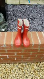Kids hunter wellies size 1