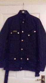 Mens Black Quilted Barbour Jacket