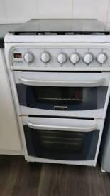 Cannon 50cm double oven gas coiker