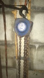 2 ton chain blocks , 10 meter lift