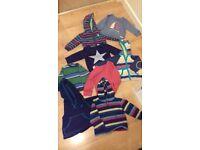 Boys Tops/jumpers Bundle