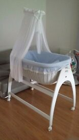 MJ Mark Miranda Wicker Crib
