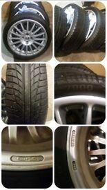 Ford oz superturismo 17 x 7 alloy wheels & tyres