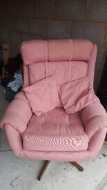 A Comfortable Swivel & Reclining Chair