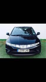 Honda Civic SE-I-CTDI 5dr diesel Black