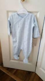 BNWT Mammas and Papas sleep suit