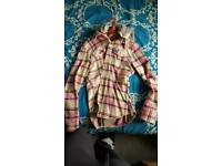3 superdry hooded shirts