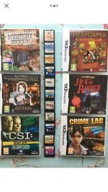 DS GAMES SOME BOXED SOME NOT CAN BE SPLIT PRICED INDIVIDUALLY OR AS A BUNDLE