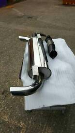 Toyota MR 2 stainless steel exhaust