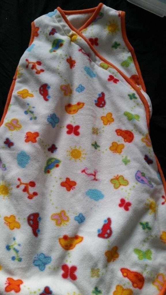 Fleece baby sleeping bag 0-6 months