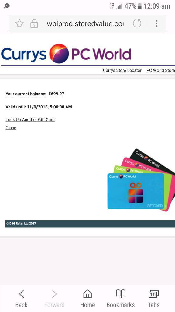 Currys Gift Card Balance >> Currys Pc World Voucher Gift Card 699 97 In Portsmouth Hampshire
