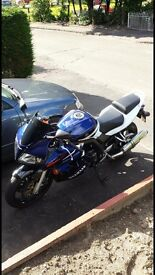 Limited edition Suzuki SV1000K5 with only 2 owners from new..,