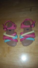 Girls Sandals size 5 - Blue Zoo by Debenhams
