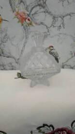 Glass lidded pot