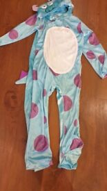 New fab sully monsters Inc Disney age 7 8 costume - Gift/ toy. role pl