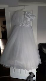 Communion/bridemaid dress age 10