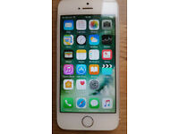iPhone 5s 64GB in white/silver 110 pounds [Open to sensible offers]