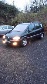 Vauxhall Zafira 1.8 Elegance automatic
