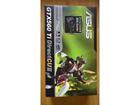 ASUS GTX 560Ti 1Gb GDDR5 PCi Express video card