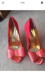 Ted Baker Heels Red Size 6