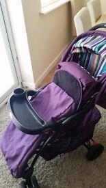 Purple Pushchair (0baby)