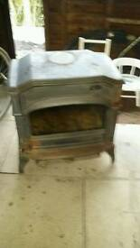 Multi fuel stove 15 or 18 kw Dover