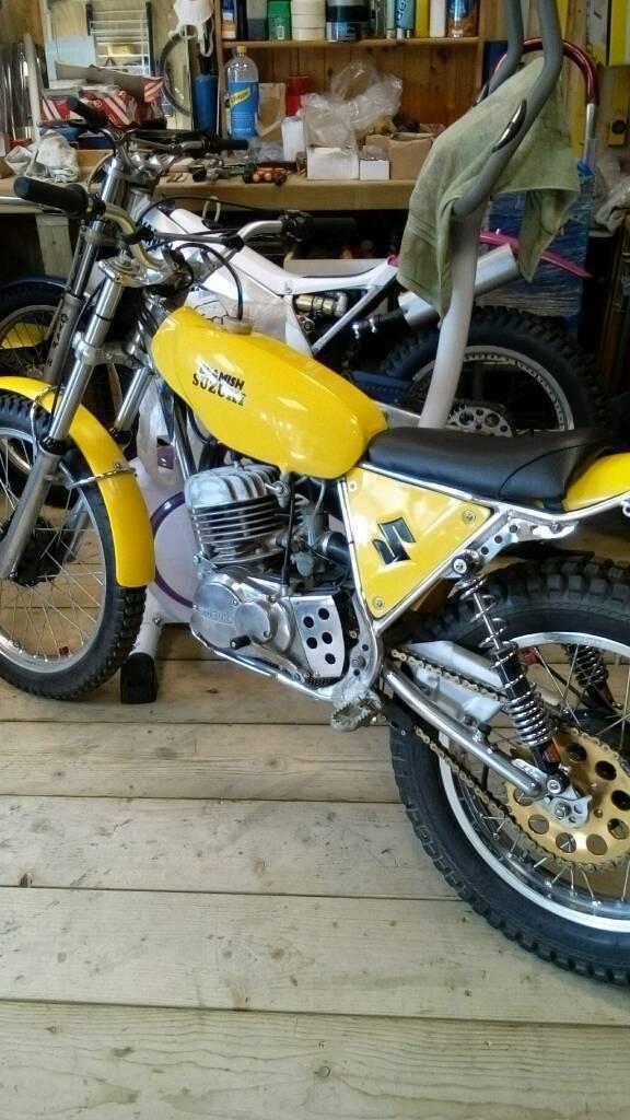 Suzuki Rl Trials Bike