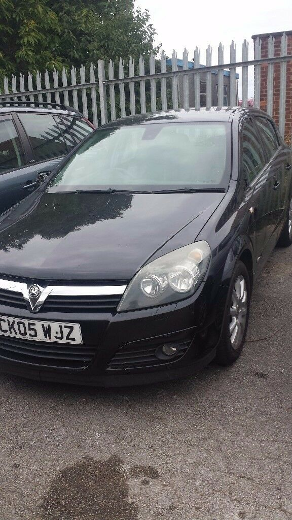 ASTRA H DRIVER WING 2006 BLACK