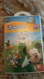 Brand New Sealed Vtech Storio Mickey Mouse Clubhouse