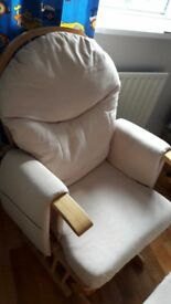 Nursing /Rocking Chair with foot stool