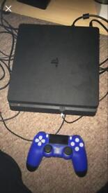 Ps4 slim with 1game on disc 8 on system