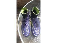 Boys Nike Hypervenom Ankle Football Boots Size 5.5