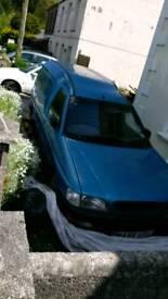 Escort van. spars repairs
