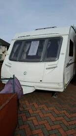 Sterling Eccles moonstone caravan 4 berth