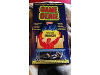Boxed Game Genie with Manual