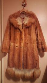Mink Fur Coat S-size