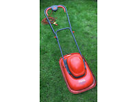 Flymo Hover Turbo Lite 330 mower for sale. In working condition.