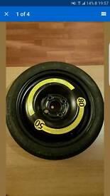Space saver wheel. 4 stud polo caddy seat ibiza