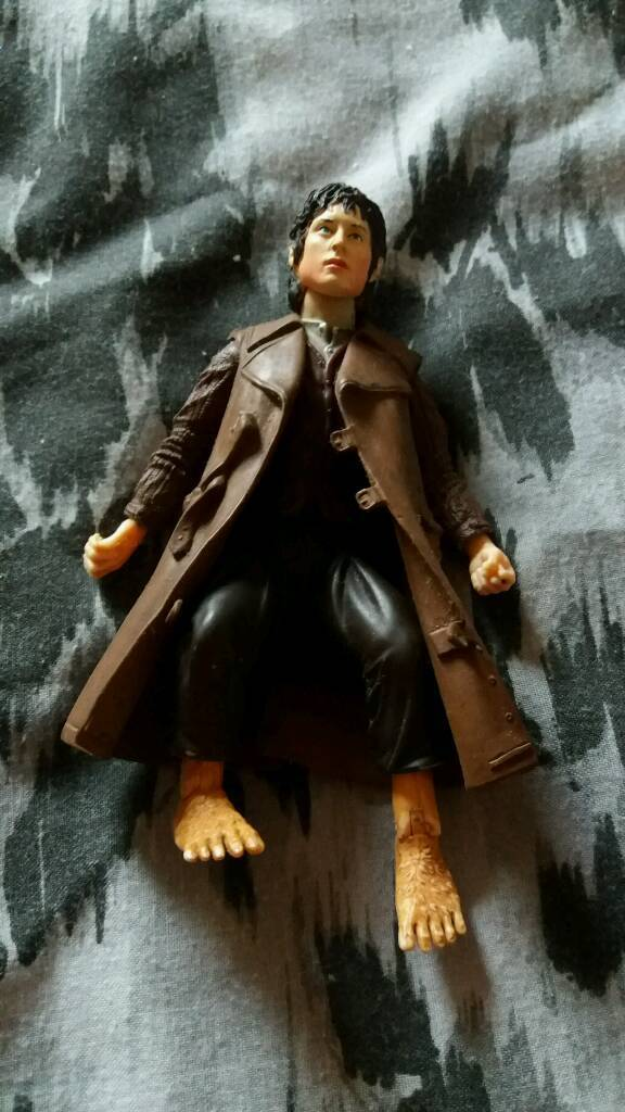 Frodo Lord of the Rings action figure Elijah wood