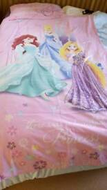 Princess single duvet/quilt cover. VGC, from a smoke free and pet free home. Collection only
